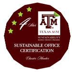 Charter Member Sustainable Office Certification Star4